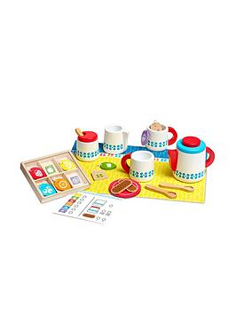 Melissa & Doug Melissa & Doug Wooden Steep &Amp; Serve Tea Set Picture