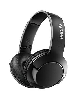 philips-bass-around-the-ear-wirelessnbspbluetoothnbspheadphones-40mm-driver-lightweight-compact-fold-passive-noise-isolation-strong-bass