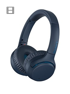 4fee3360511 Sony Sony WH-XB700 EXTRA BASS™ Wireless On-ear Headphones - 30 hours  battery life, 360 Reality Audio, voice assistant compatible, Blue