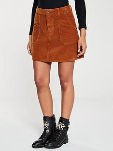 superdry-cord-a-line-skirt-tan