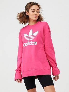 adidas Originals  Adidas Originals Sweatshirt - Magenta