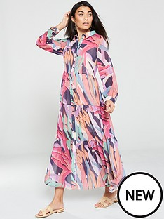 v-by-very-tiered-button-through-maxi-dress-print