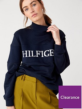 tommy-hilfiger-laureen-high-neck-sweatshirt-navy