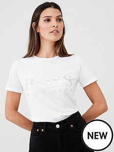boss-casual-logo-t-shirt-white