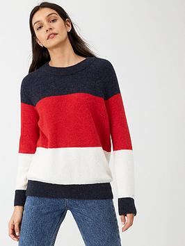 Tommy Hilfiger Tommy Hilfiger Makayla Crew Neck Sweater - Red Picture