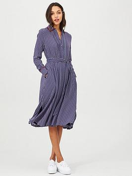 Tommy Hilfiger Tommy Hilfiger Long Sleeve Angie Dress - Print Picture