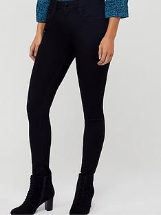 monsoon-nadine-short-jeans-black