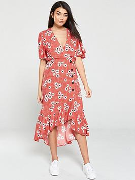 v-by-very-floral-button-dress-red-floral