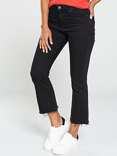 tommy-jeans-cropped-denim-flares-black
