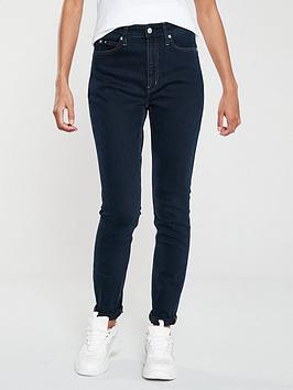 Calvin Klein Jeans   Ckj 010 High Rise Skinny Jean - Denim