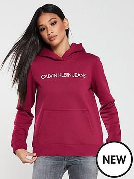 calvin-klein-jeans-institutional-logonbsphoodienbsp--multi