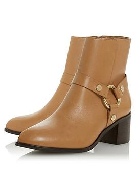 dune-london-pipkin-harness-ankle-boots-camel