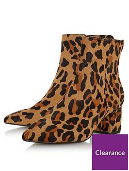 dune-london-omarii-clean-point-low-block-heel-boots-leopard-print