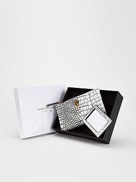 kurt-geiger-london-pouch-gift-set-whiteblack