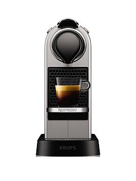 Nespresso   By Krups Citiz Xn741B40 Pod Coffee Machine - Silver