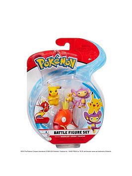 Pokemon Pokemon 3 Battle Figure Pack Picture