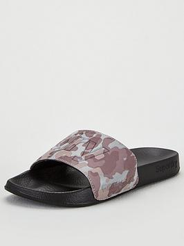 Superdry Superdry Reflective Camo Pool Slides - Grey Picture