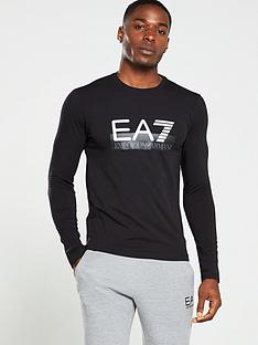 ea7-emporio-armani-logo-print-long-sleeve-t-shirt-black