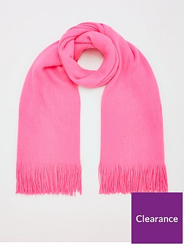 v-by-very-bright-knitted-scarf-pink
