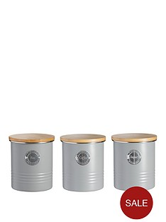 typhoon-living-tea-coffee-and-sugar-storage-canisters-ndash-grey