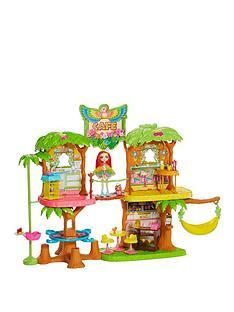 enchantimals-junglewood-cafeacute-and-peeki-parrot-doll-playset