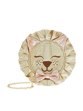 monsoon-lilly-lion-round-bag