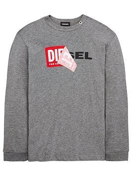 diesel-boys-long-sleeve-double-logo-t-shirt-grey