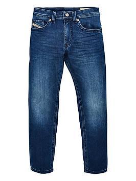 Diesel Diesel Boys Thommer Slim Jeans - Mid Wash Picture