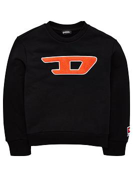 diesel-diesel-boys-crew-applique-logo-sweat-top-grey