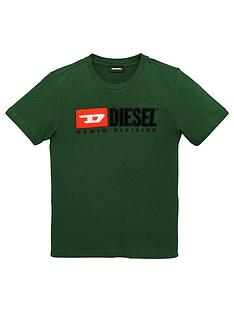 diesel-boys-short-sleeve-logo-t-shirt-green