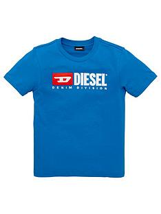 diesel-boys-short-sleeve-logo-t-shirt-blue