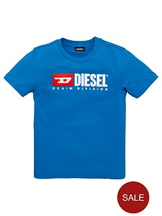 diesel-boys-short-sleeve-logo-t-shirt-blue