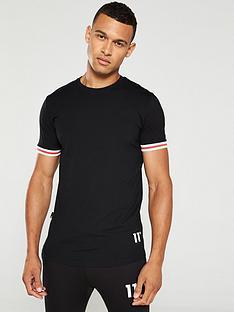 11-degrees-apollo-t-shirt-black