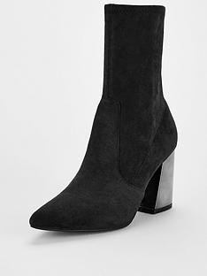 v-by-very-rita-feature-heel-calf-sock-boots-black