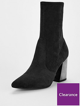 v-by-very-rita-feature-heel-calf-sock-boots-black