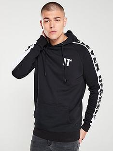 11-degrees-odin-raglan-hoodie-blackwhite