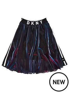 dkny-girls-double-layer-metallic-mesh-skirt-purple