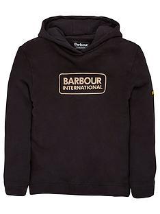 barbour-international-girls-bowden-hoodienbsp--black
