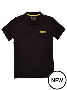 barbour-international-boys-essential-short-sleeve-polo-shirt-black