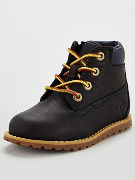 Timberland Timberland Pokey Pine Childrens 6-Inch Boots - Navy Picture