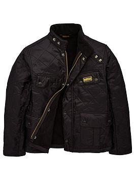Barbour International Barbour International Boys Ariel Polarquilt Jacket -  ... Picture