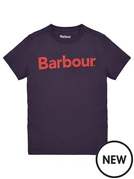 barbour-boys-logo-short-sleeve-t-shirt-navy