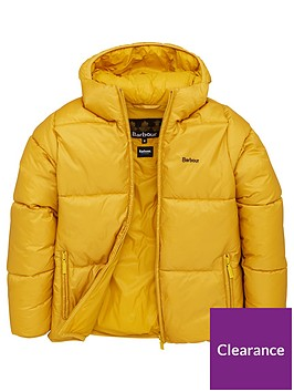 barbour-boys-ross-quilted-hooded-coat-gold