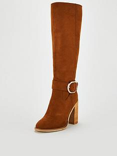 v-by-very-tania-large-buckle-trim-block-heel-knee-boot