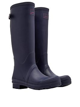 Joules Joules Field Welly With Adjustable Gusset - Navy Picture