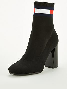tommy-jeans-sock-heeled-boot
