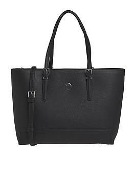 tommy-hilfiger-honey-medium-tote-bag-black