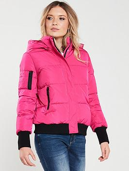 Armani Exchange   Padded Jacket - Pink