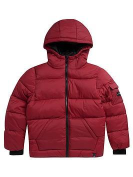 animal-boys-gus-padded-coat-red