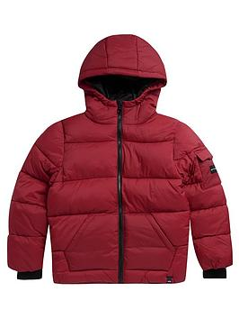 Animal Animal Boys Gus Padded Coat - Red Picture